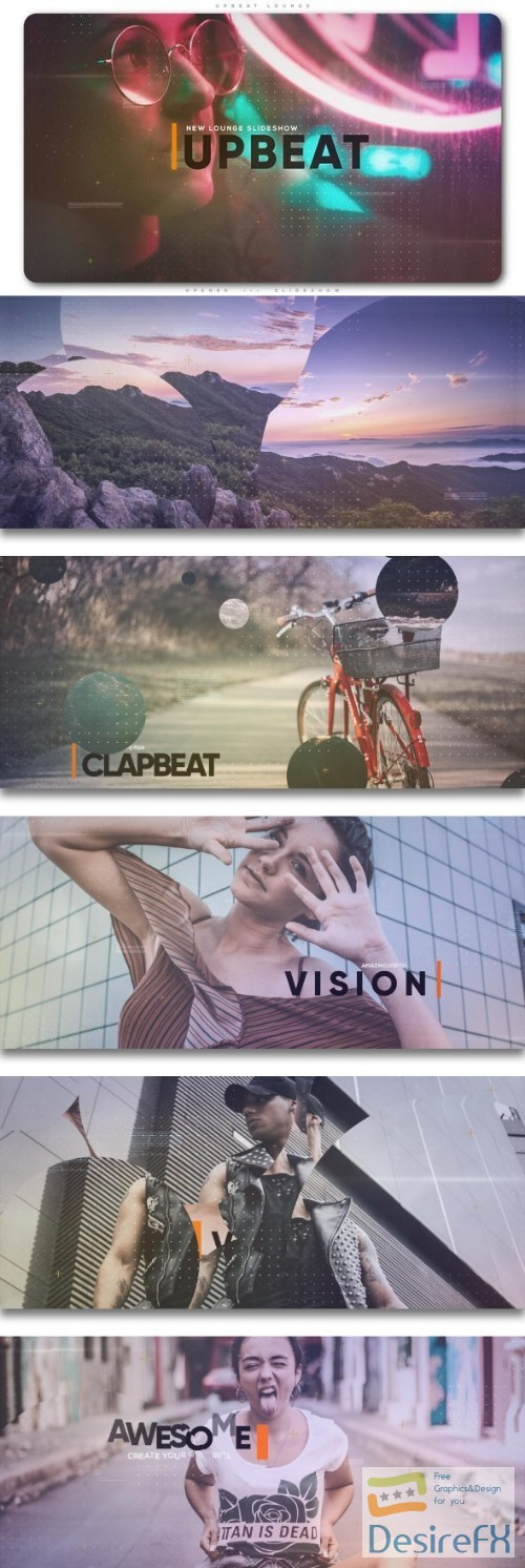 after-effects-projects - Videohive Upbeat Lounge Opener Slideshow 21983233