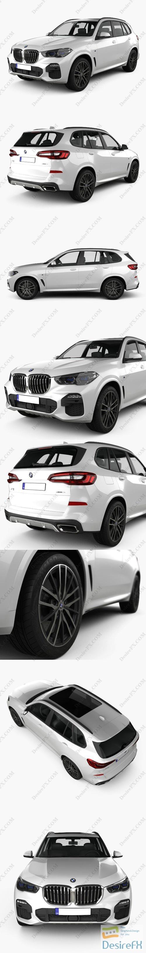 BMW X5 M sport 2019 3D Model