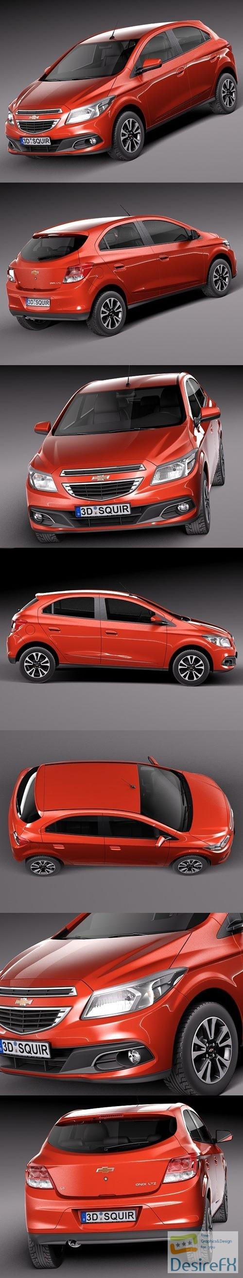 3d-models - Chevrolet Onix 2013 3D Model