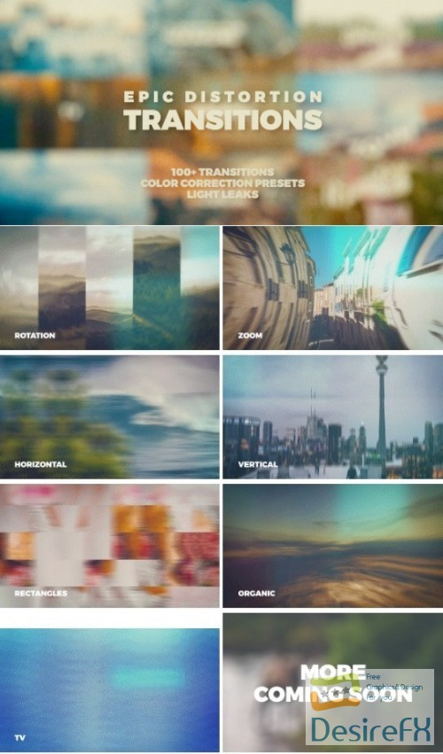 after-effects-projects - Videohive Epic Distortion Transitions 20553807