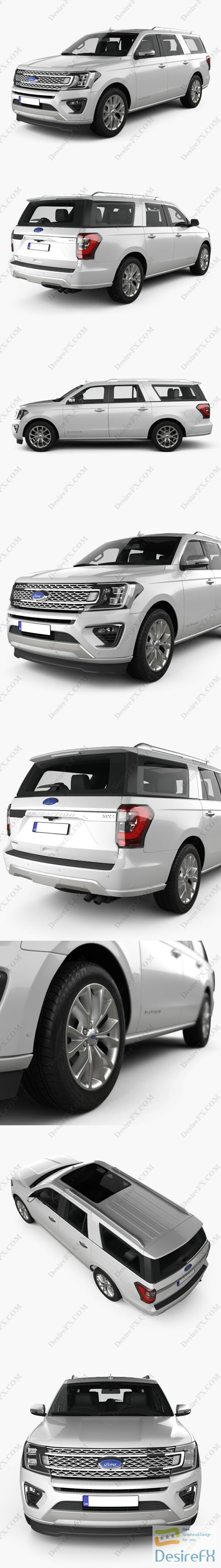 3d-models - Ford Expedition MAX Platinum 2017 3D Model