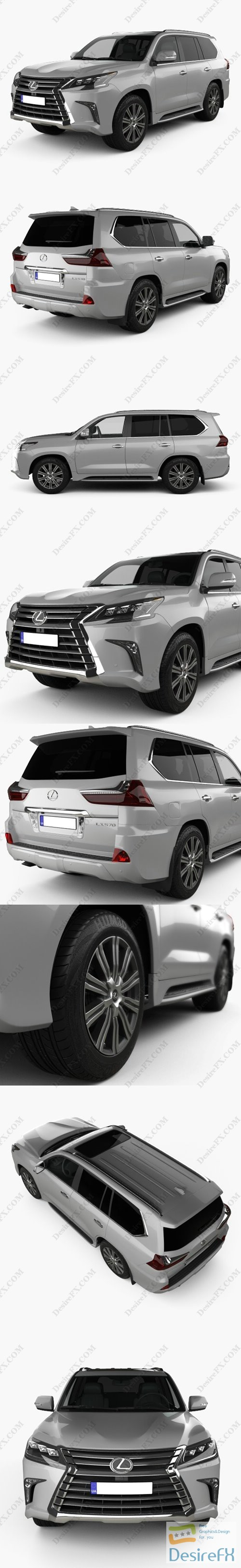 3d-models - Lexus LX570 2016 3D Model
