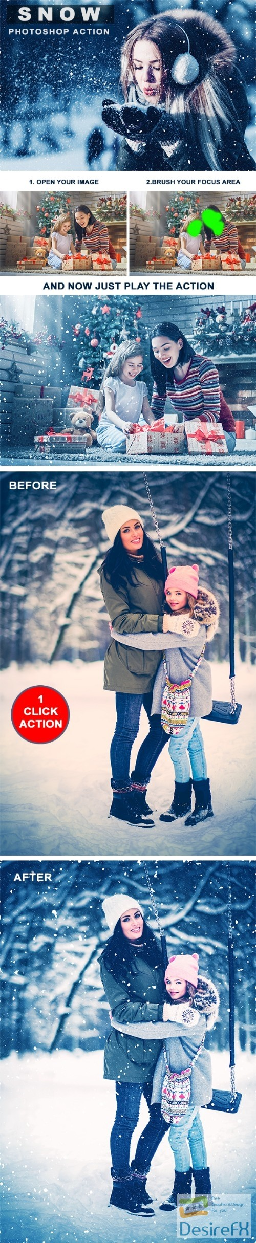 actions-atn - Snow Photoshop Action 22846485