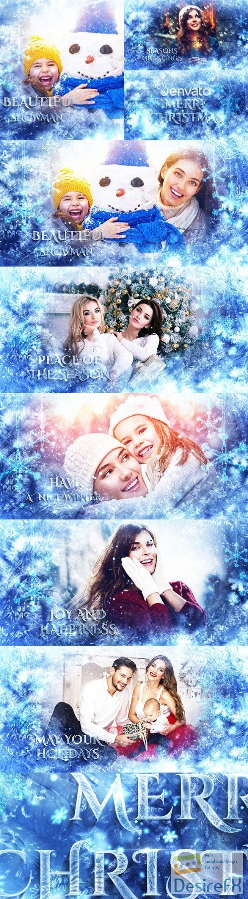 after-effects-projects - Videohive Winter Slideshow / Titles 22978190