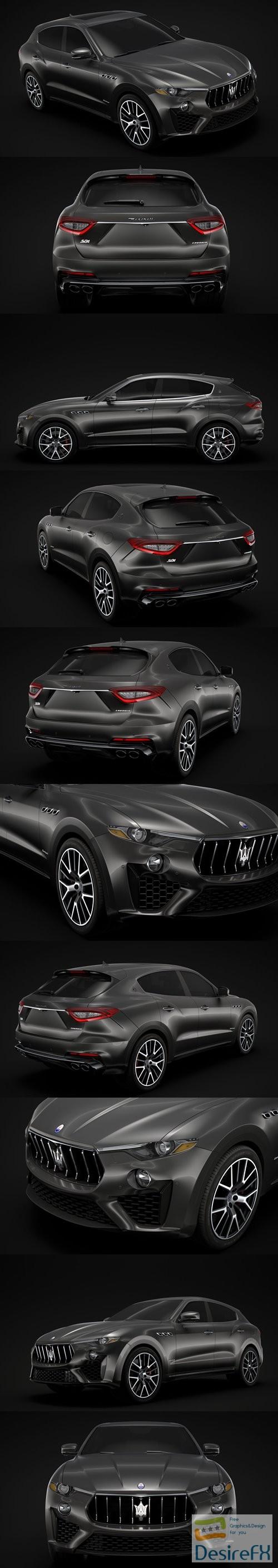 3d-models - Maserati Levante S Q4 GranSport 2019 3D Model