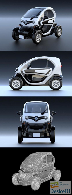3d-models - Renault Twizy ZE 2013 3D Model