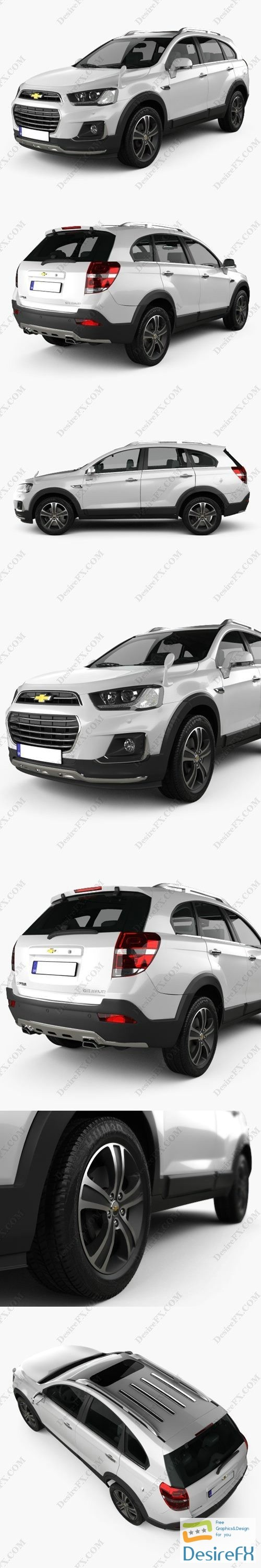 3d-models - Chevrolet Captiva (JP) 2015 3D Model