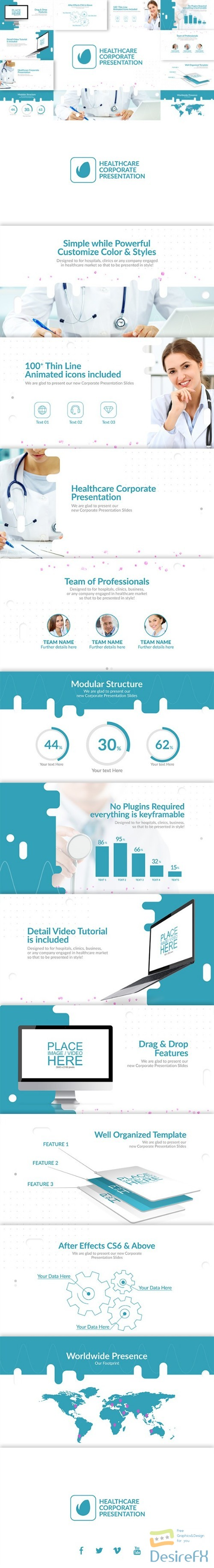 after-effects-projects - Videohive Healthcare & Corporate Presentation 23093513