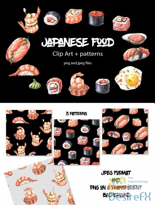 stock-images - Japanese food clip art - 189085