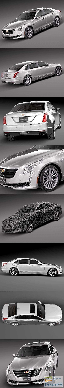 3d-models - Cadillac CT6 2016 3D Model