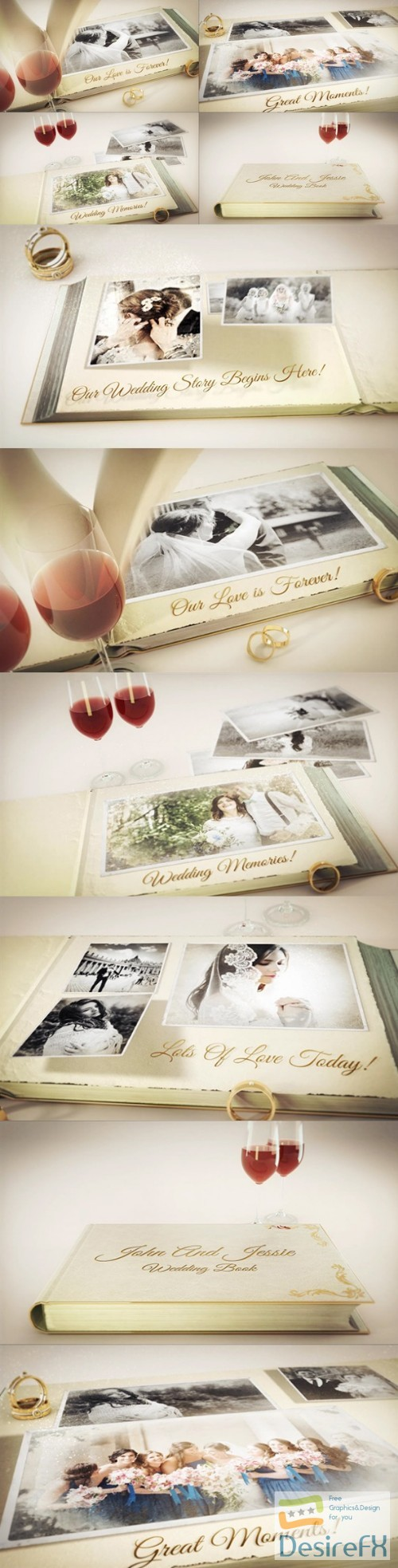 after-effects-projects - Videohive Our Wedding Story 23337575