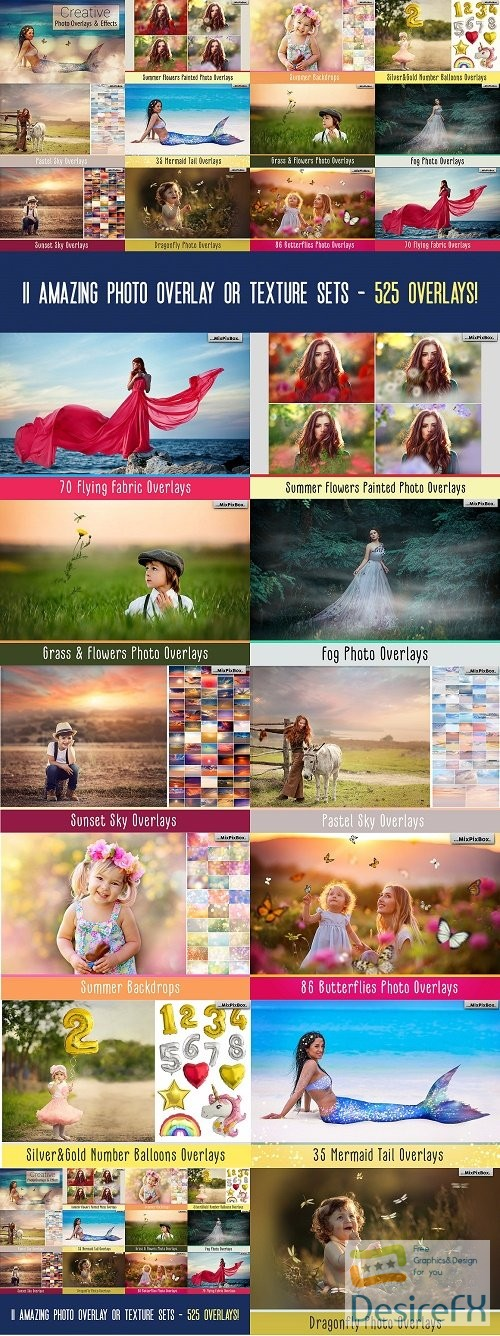 stock-images - Dealjumbo - Creative Photo Overlays & Effects