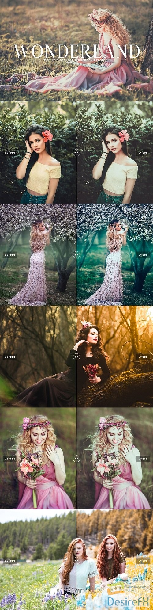 photoshop - Wonderland Lightroom Presets Pack - 3581806