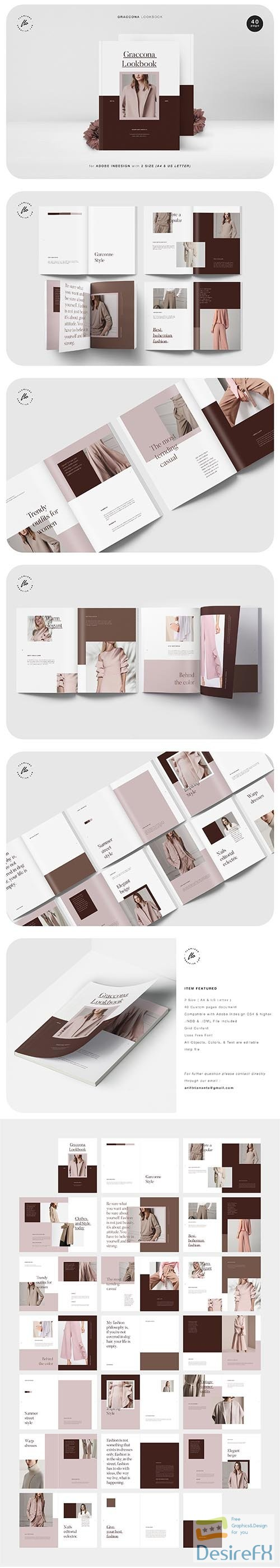 other - CreativeMarket - GRACCONA Lookbook 3611408