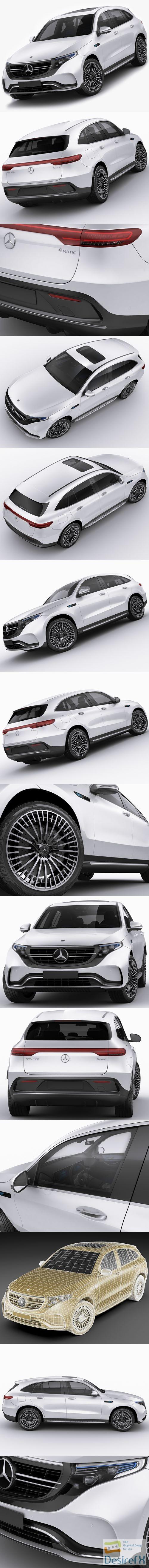 Mercedes EQC 3D Model