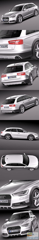 3d-models - Audi A6 Allroad quattro 2013 3D Model