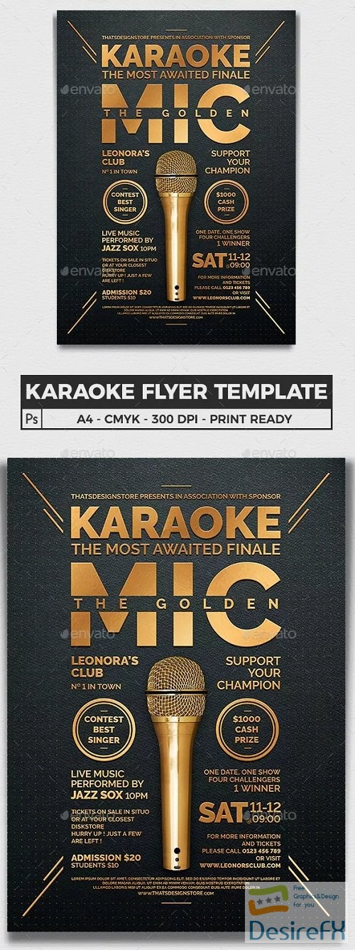 layered-psd - graphicriver - Karaoke Flyer Template V8 23067294 - 3302833