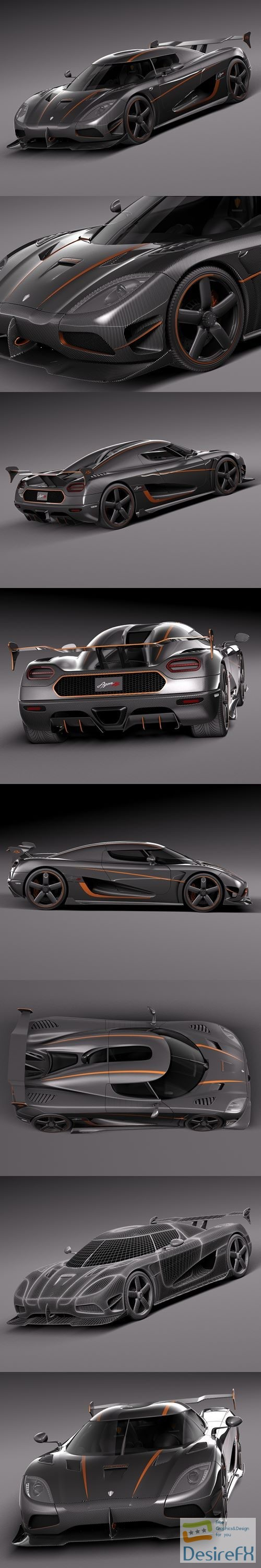 3d-models - Koenigsegg Agera RS 2015 3D Model
