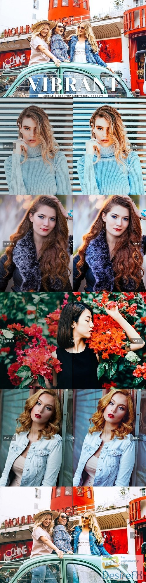 Vibrant Lightroom Presets Collection - 3690119