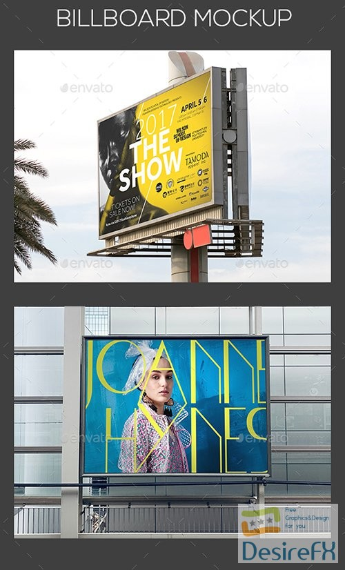 mock-up - GraphicRiver - Billboard Mockup 23563363