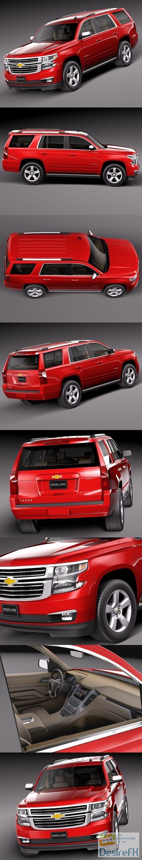 Chevrolet Tahoe 2015 3D Model