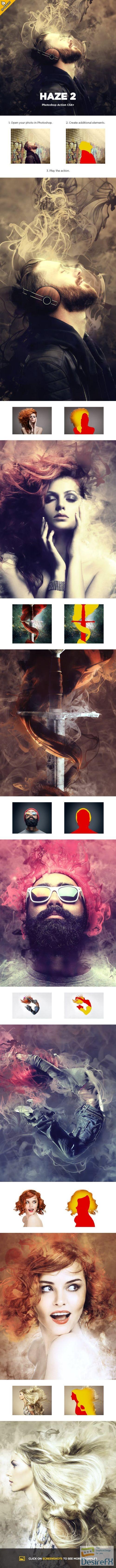 actions-atn - GraphicRiver - Haze 2 CS4+ Photoshop Action 23310795