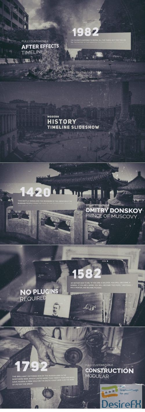 after-effects-projects - Videohive History Timeline 22597456