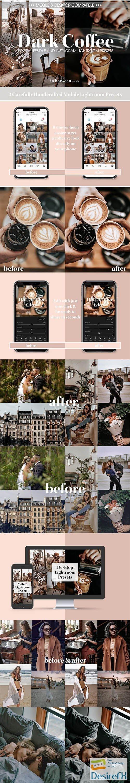 other - Dark Coffee Mobile Desktop Presets 3737331