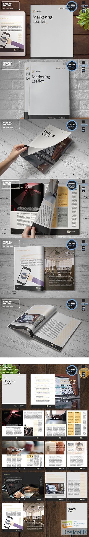other - CreativeMarket - Marketing HandBook With Tan Accent 3702595
