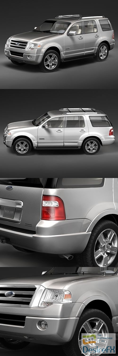 3d-models - Ford Expedition 2007 3D Model