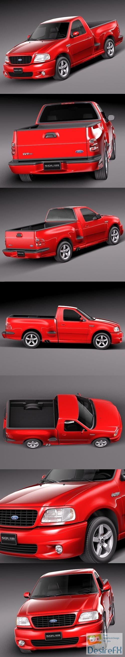 Ford F-150 Lightning 1999-2004 3D Model