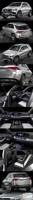 3d-models - Mercedes-Benz GLE 2020 3D Model