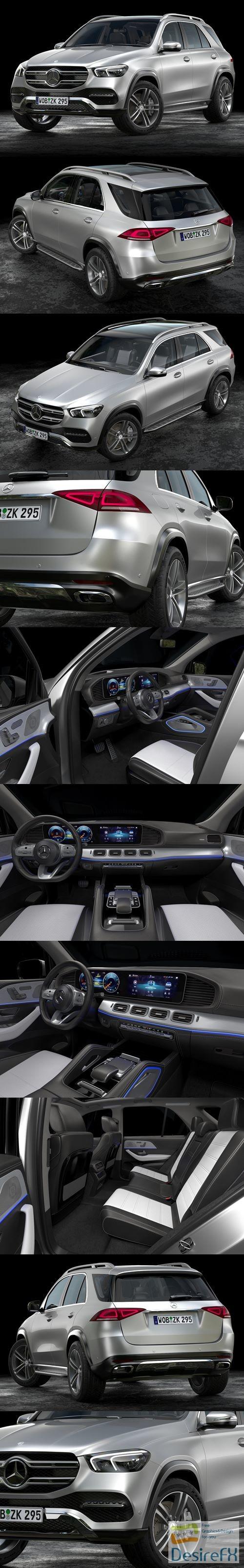 Mercedes-Benz GLE 2020 3D Model