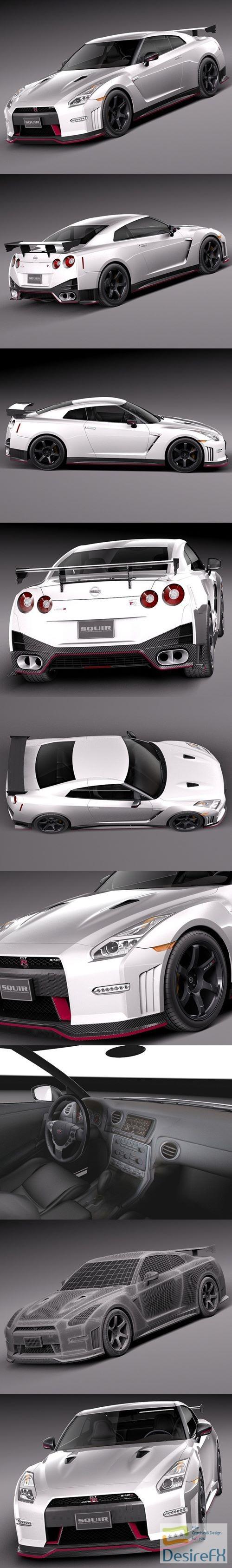 Nissan GT-R Nismo 2015 3D Model