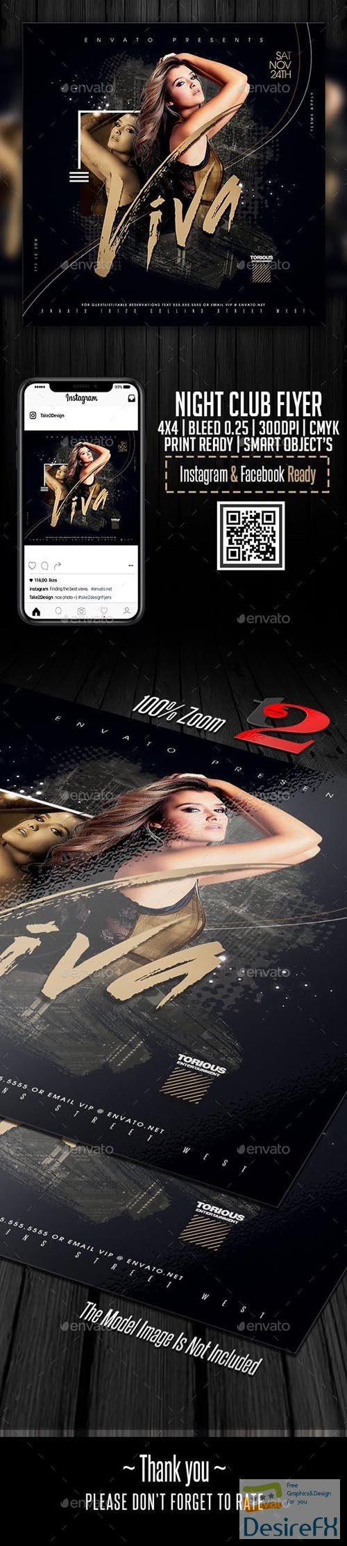 GraphicRiver - Night Club Flyer Template 23650370