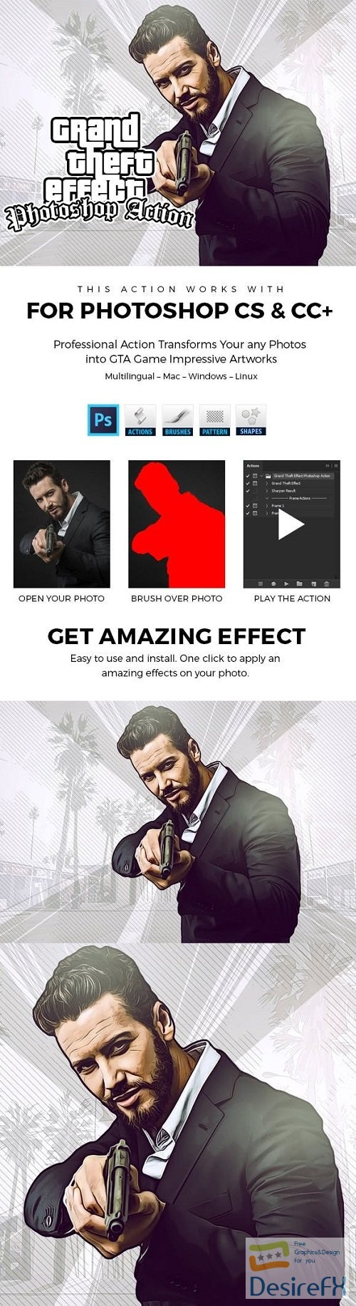 actions-atn - Grand Theft Effect Photoshop Action 23753323