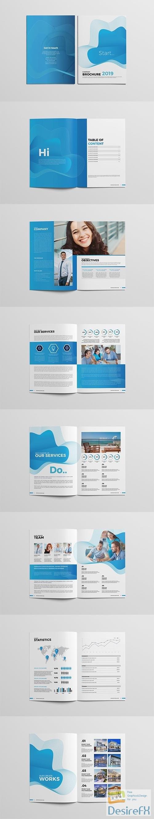 CreativeMarket - Corporate Business Brochure 3666070