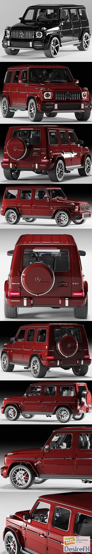 3d-models - Mercedes-Benz G63 AMG 2019 3D Model