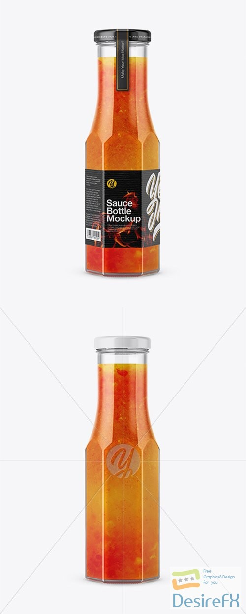 mock-up - Sauce Bottle Mockup 27962 TIF