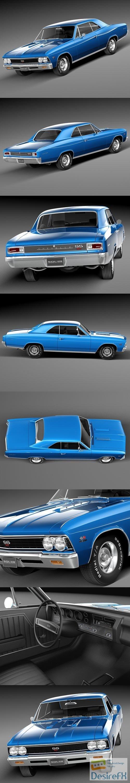 3d-models - Chevrolet Chevelle SS 1966 3D Model