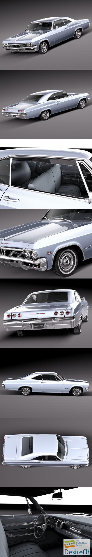 3d-models - Chevrolet Impala 1965 3D Model
