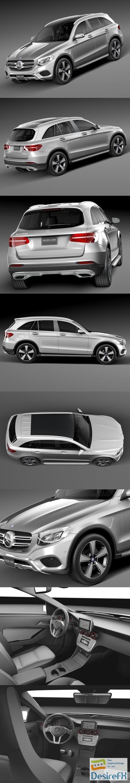 3d-models - Mercedes-Benz GLC 2016 3D Model