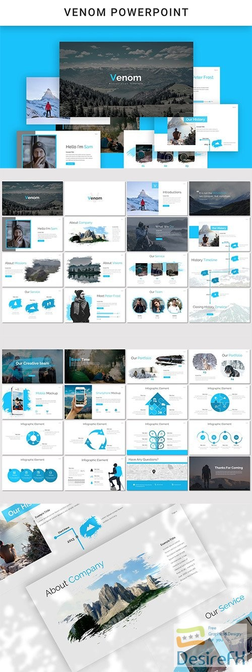 powerpoint - Venom Powerpoint, Keynote and Google Slides Templates