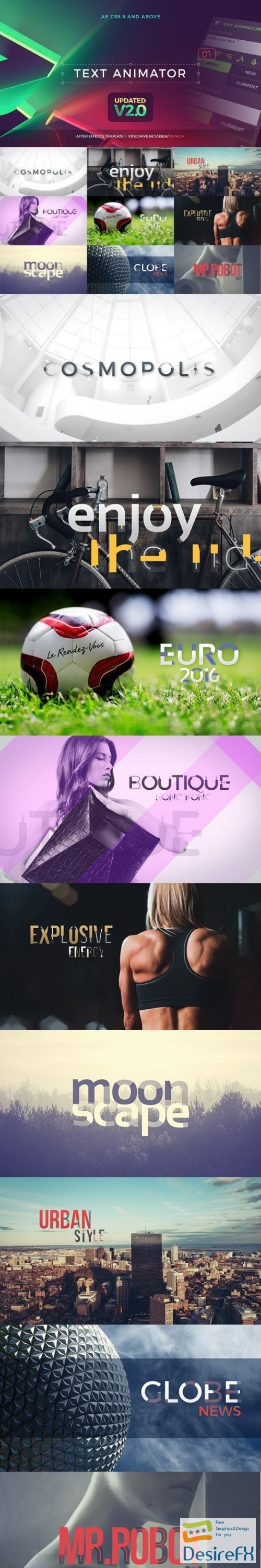 after-effects-projects - Videohive Creative Titles V2.1 16491525