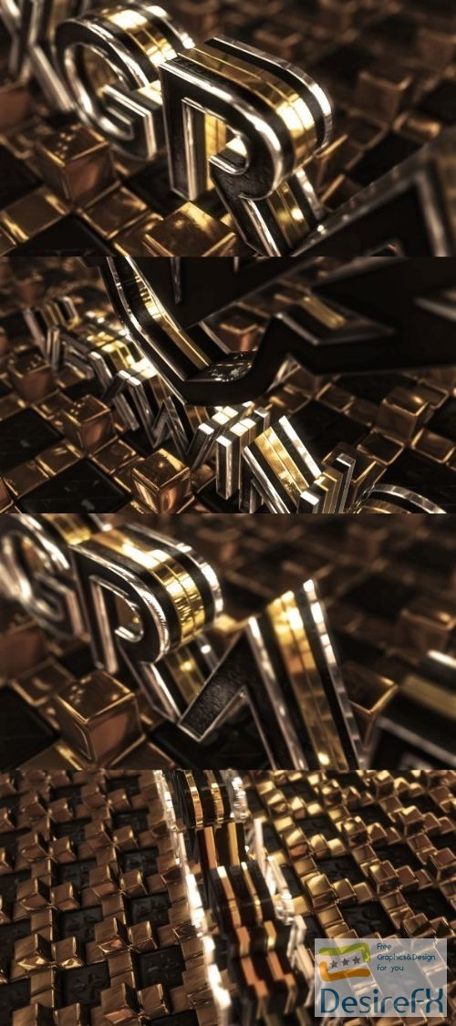Videohive Gold Cross Logo 22099229