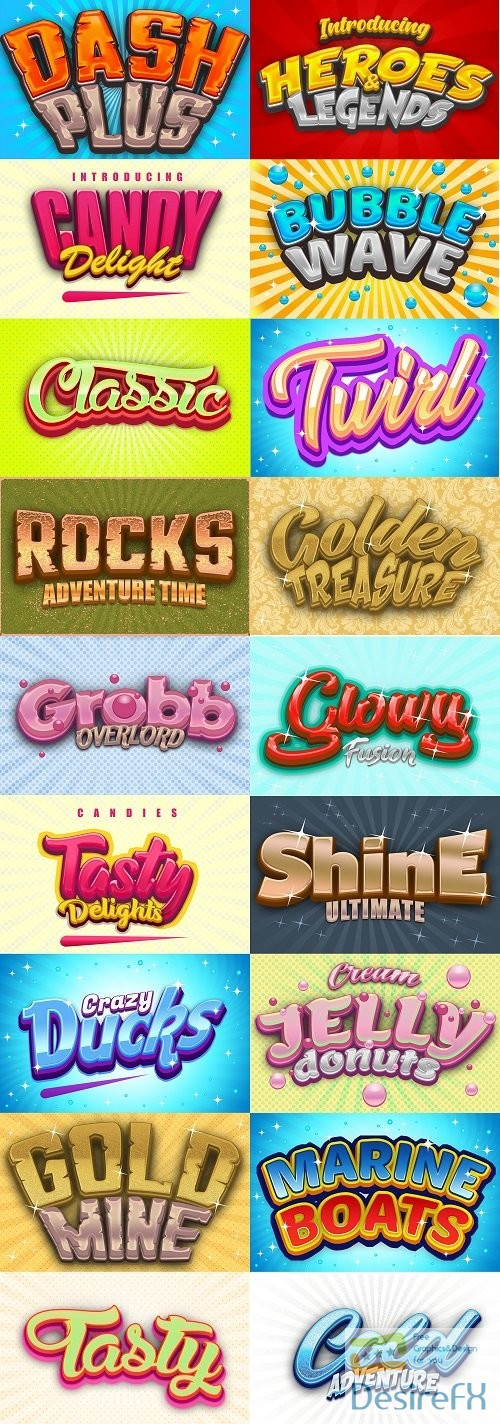 styles-asl - Game Logo Text Effect Styles Bundle 3741328