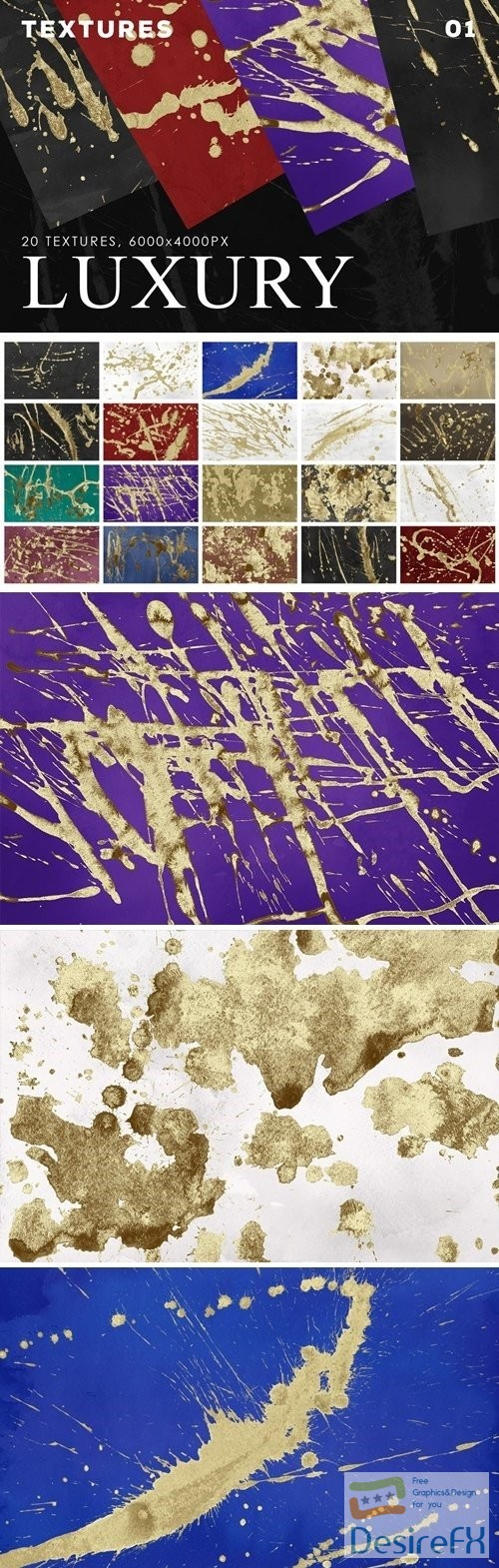 stock-images - Luxury Paint Textures 01
