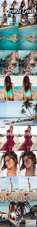 actions-atn - Neo Bronze Beach Theme Desktop Lightroom Presets, ACR preset - 272493
