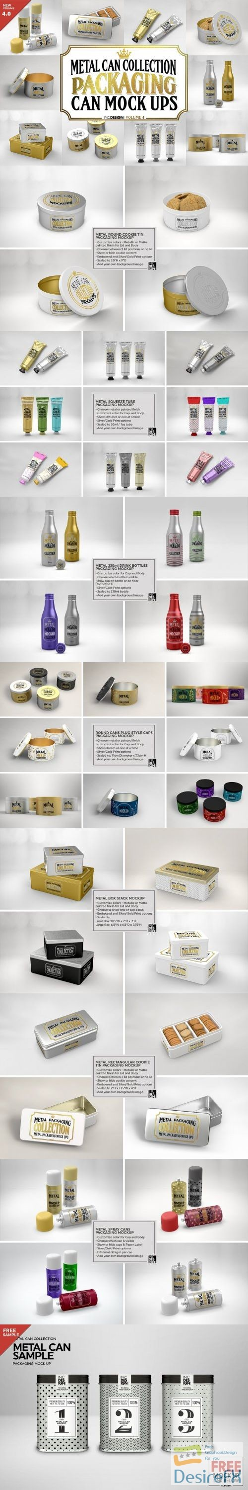 mock-up - Vol4. Metal Can Mockup Collection 3884341