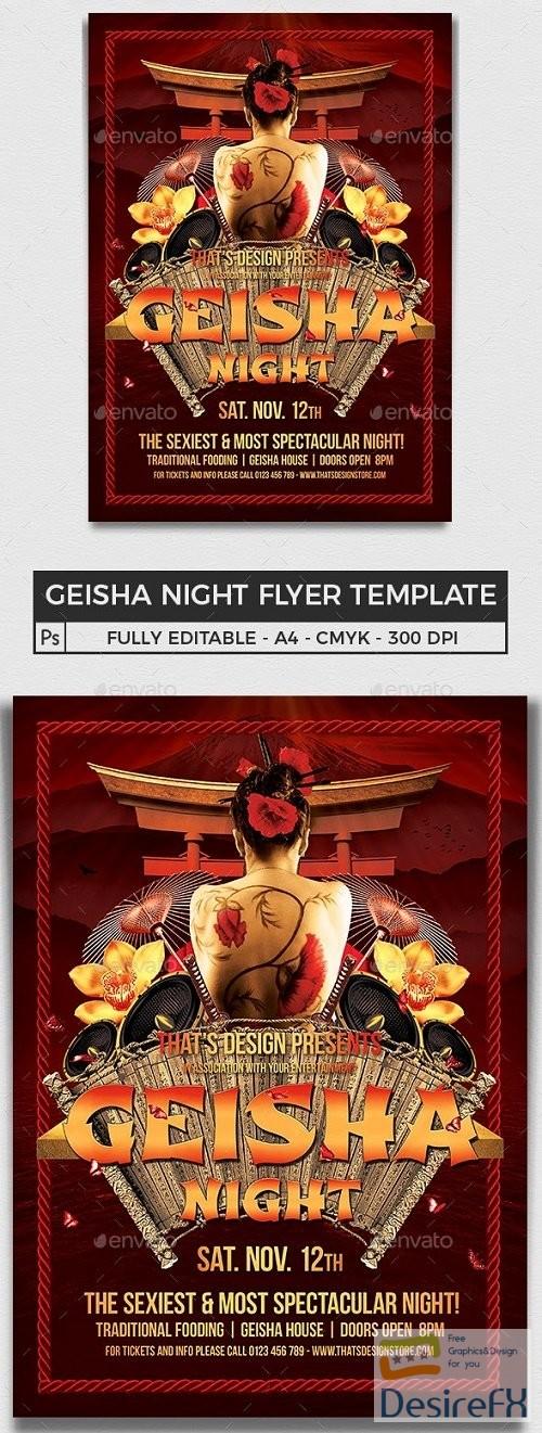 layered-psd - Geisha Night Flyer Template V1 - 8220849 - 91371